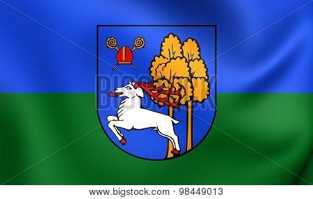 Flag Of Elk City, Poland.