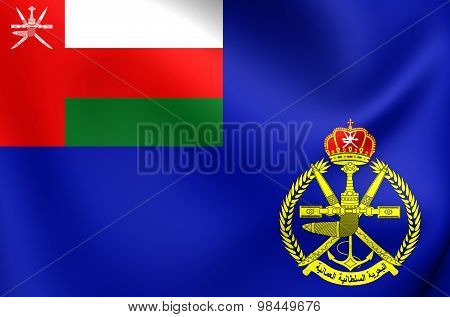 Naval Ensign Of Oman