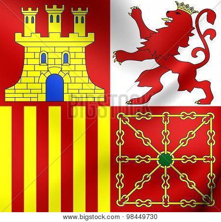 Naval Jack Of Spain