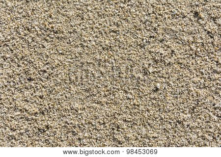 Grains Of Sand Form A Natural Pattern