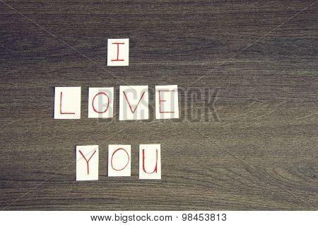 I Love You