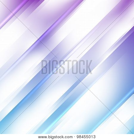 Gentle Lilac Oblique Stripes Blur Abstract Background