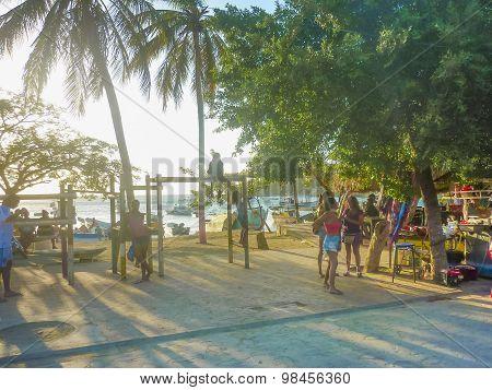 Taganga Boardwalk