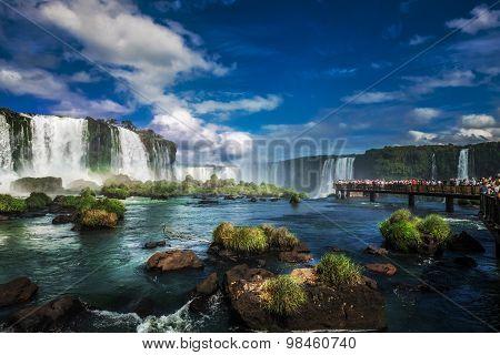 Iguacu Falls, Brazil, South America
