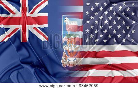 USA and Falkland Islands