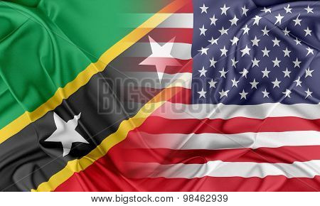 USA and Saint Kitts and Nevis