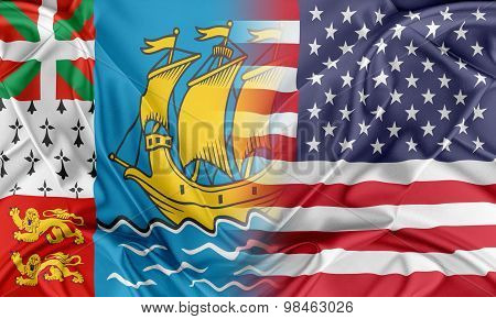 USA and Saint-Pierre and Miquelon