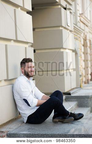 Man freelancer