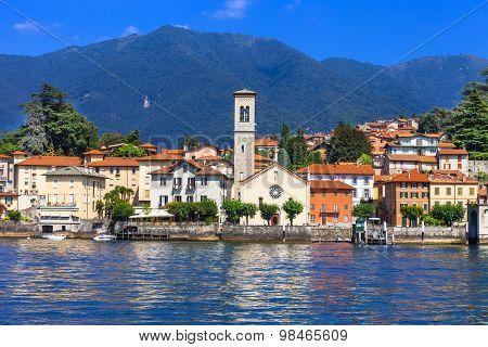 Lago di Como - beautiful Torno village. north of Italy