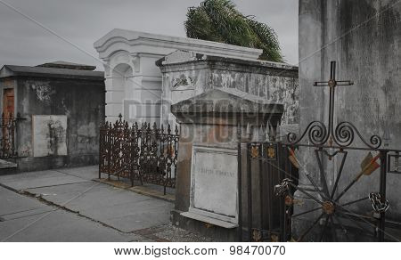 St. Louis Cemetery, New Orleans, Louisiana