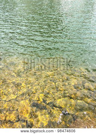 Clear Colorado Lake