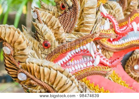 Many Headed Naga Closeup
