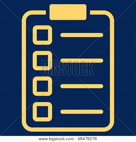 Examination icon from Business Bicolor Set