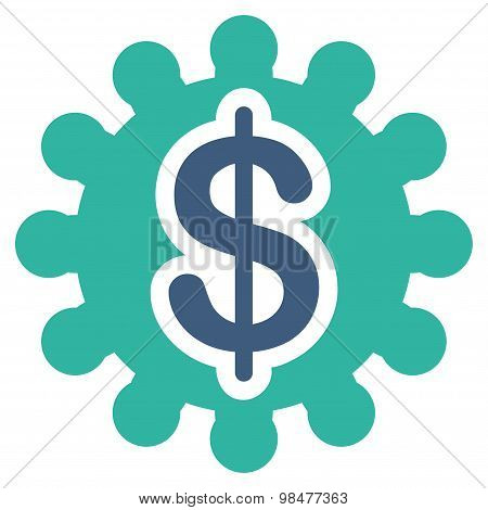 Payment options icon from Business Bicolor Set