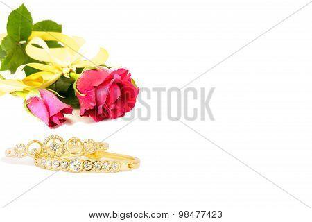 Rose And Bracelet