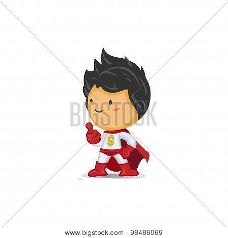 Super Hero of Wealth Thumb up
