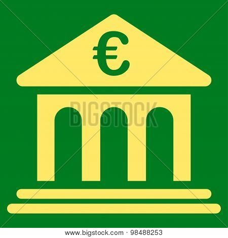 Bank icon from BiColor Euro Banking Set