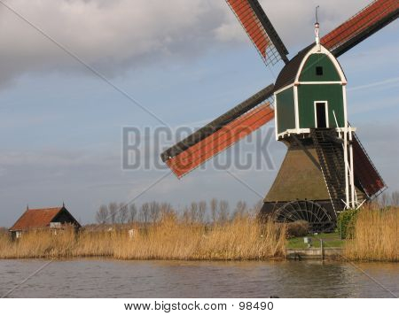 Dutch Windmill 3