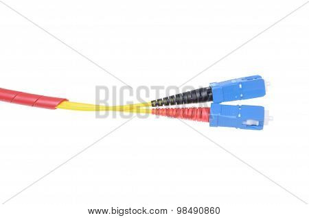 Fiber optic cables type sc