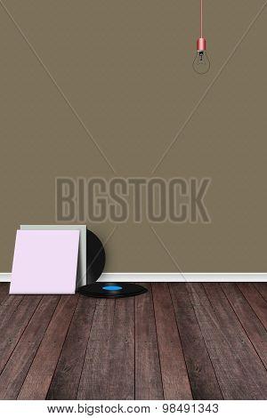 Room With Record Vinyl