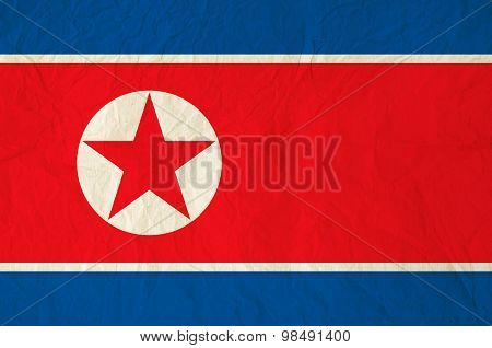 Flag Of The Democratic People's Republic Of Korea