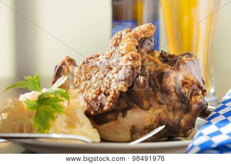 Grilled Pork Hock