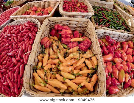 Marketplace Peppers