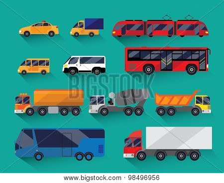 Urban public and freight transport