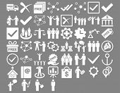 Business Flat Icons poster