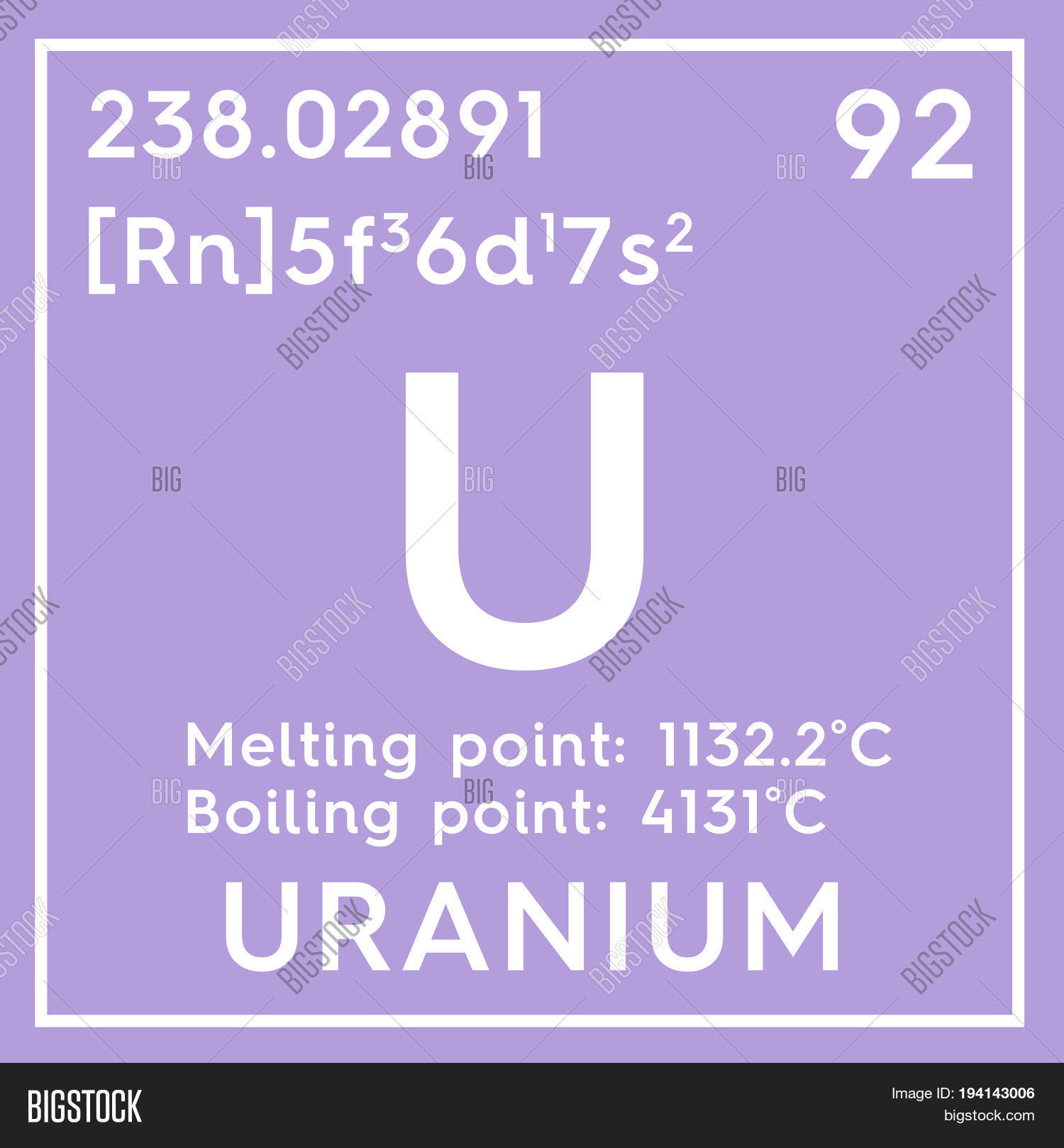 Uranium actinoids chemical element of mendeleevs periodic table uranium actinoids chemical element of mendeleevs periodic table uranium in square cube creative gamestrikefo Image collections
