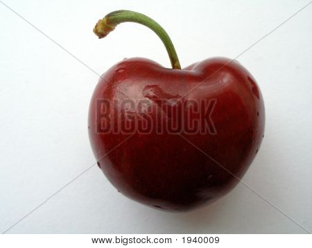 Cherry Love Heart
