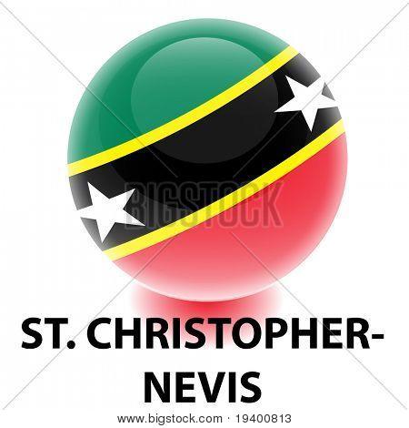 Orb St. Christopher-Nevis Flag