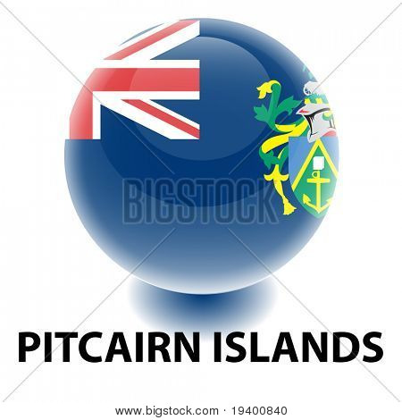Orb Pitcairn Islands Flag