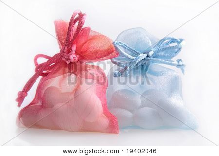 Just Married - wedding candy favors