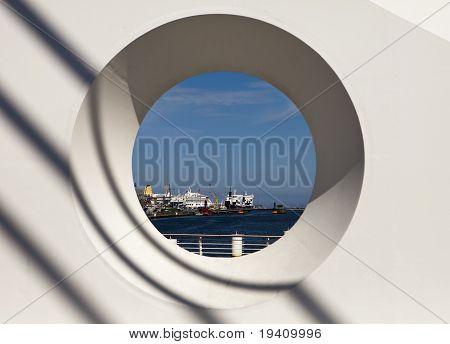 Dublin Harbor Through Circle