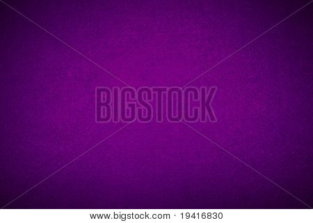 Close-up of violet poker table felt background