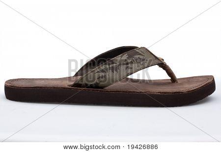 summer slipper side view
