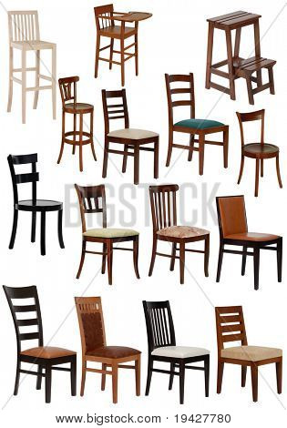 fifteen different chair