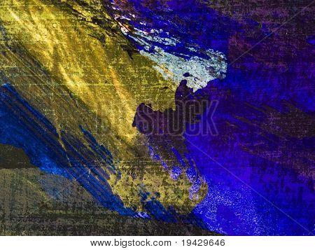 High magnification oil paint texture