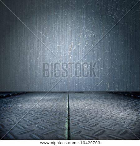Blue steel room