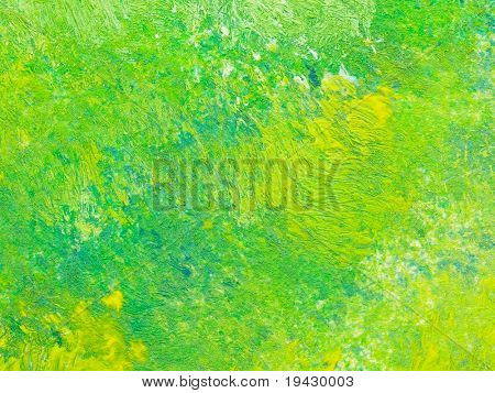 high magnification oil painting texture
