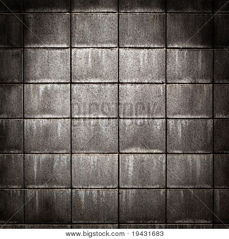 grungy concrete brick wall