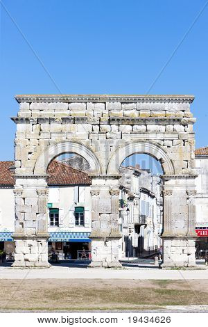 Arch of Germanicus, Saintes, Poitou-Charentes, France