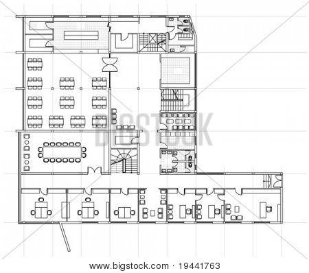 Large building plan