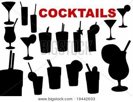 Cocktails Siluetts