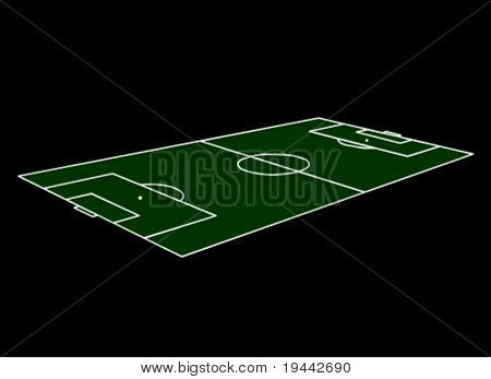 Football Field in 3D