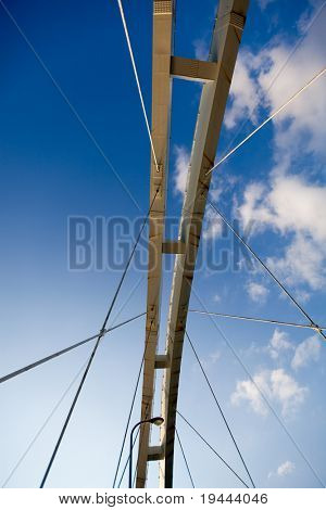 brdige looking on sky