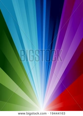 colorful background in vector design