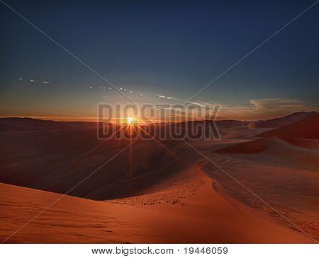 Dead Vlei - Sossusvlei, Namib Desert, Namibia