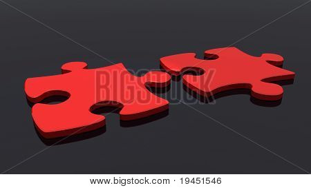 Puzzles Red Color